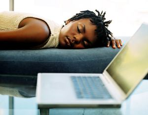 black-woman-sleeping