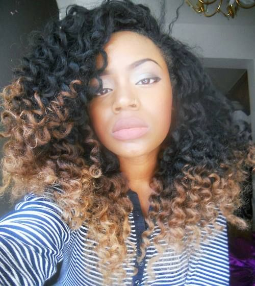 Crochet Hair Ombre : Which one of these looks have you already tried?